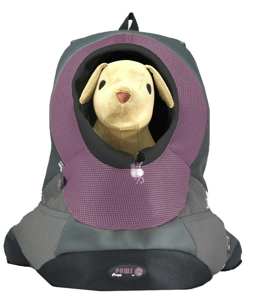 Crazy Paws  Pet Backpack Extra Large Lilac by Crazy Paws