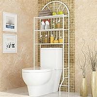 WC plank, planken boven het toilet, badkamerplank,wasmachine-plank, 65 * 34 * 178cm, gemaakt van staal, maximale…