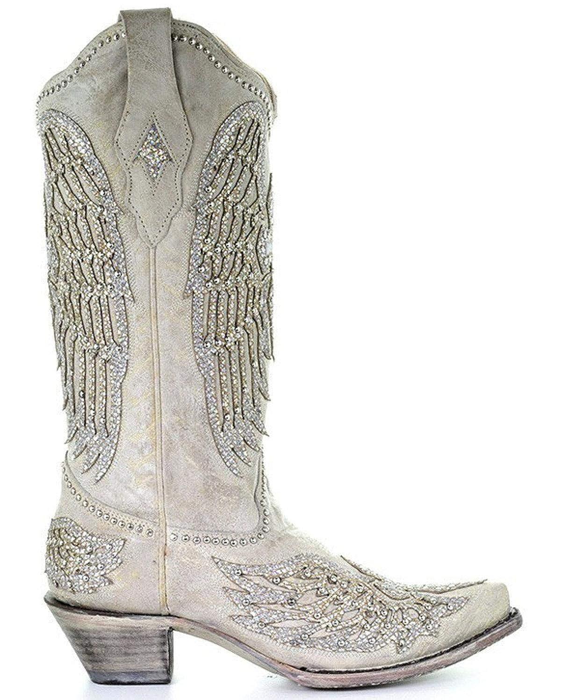 3cb29d19273 CORRAL Women's Angela Western Boot Snip Toe