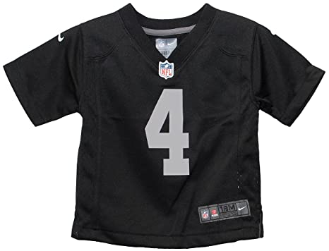 05b56df7572 Amazon.com : Derek Carr Oakland Raiders Team Color Infant Nike Game Jersey  (18 Months) : Sports & Outdoors
