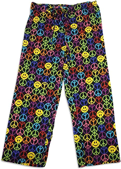 Little Girls Colorful Blended Knit Pajama Pant Bee Posh
