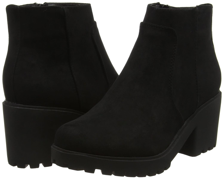 New Look Mädchen Biggie Chunky Chelsea Boots, Schwarz (Black), 40 EU