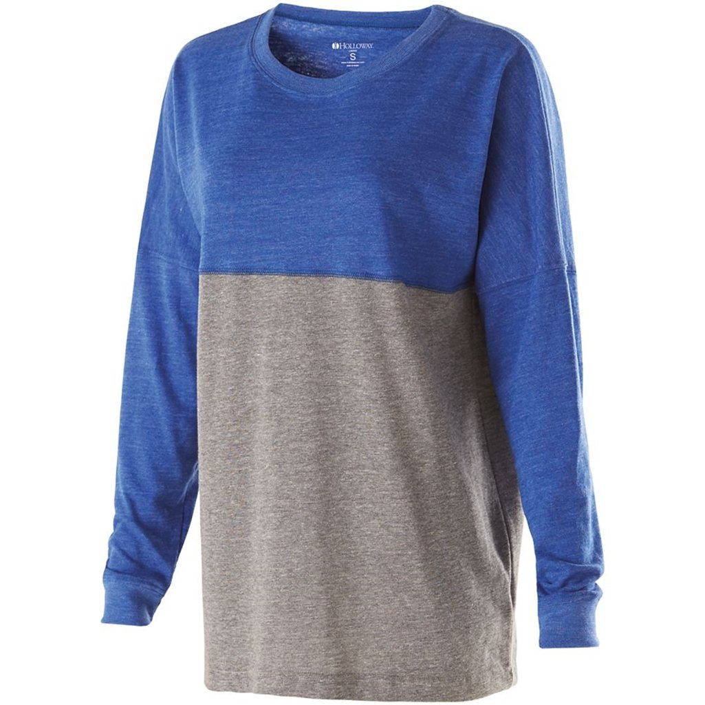 Holloway Juniors Low Key Pullover (Large, Vintage Royal/Vintage Grey) by Holloway
