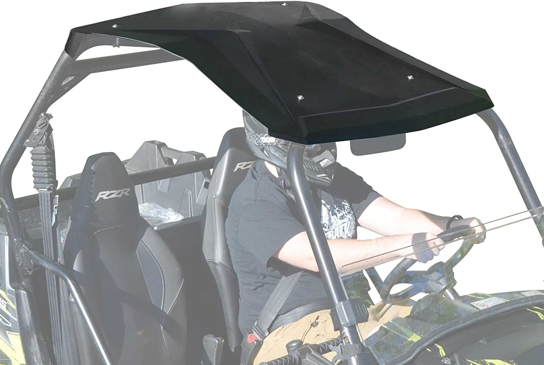 SuperATV Heavy Duty Plastic Roof for Polaris RZR 800 2008-2014 800 S