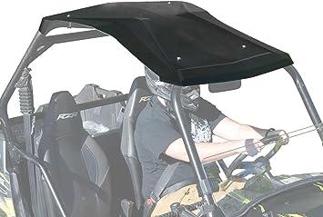 Amazon Com Superatv Heavy Duty Plastic Roof For Polaris Rzr 800 800 S Xp 900 570 Easy To Install Automotive