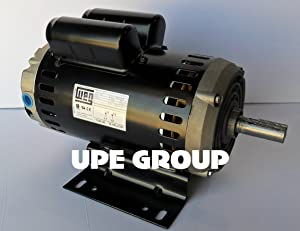"6.4 HP ELECTRIC MOTOR 23 AMP 7/8"" SHAFT DIAMETER 3450 RPM 240 VOLT FOR COMPRESSOR WEG 00636OS1XCD182/4Y"
