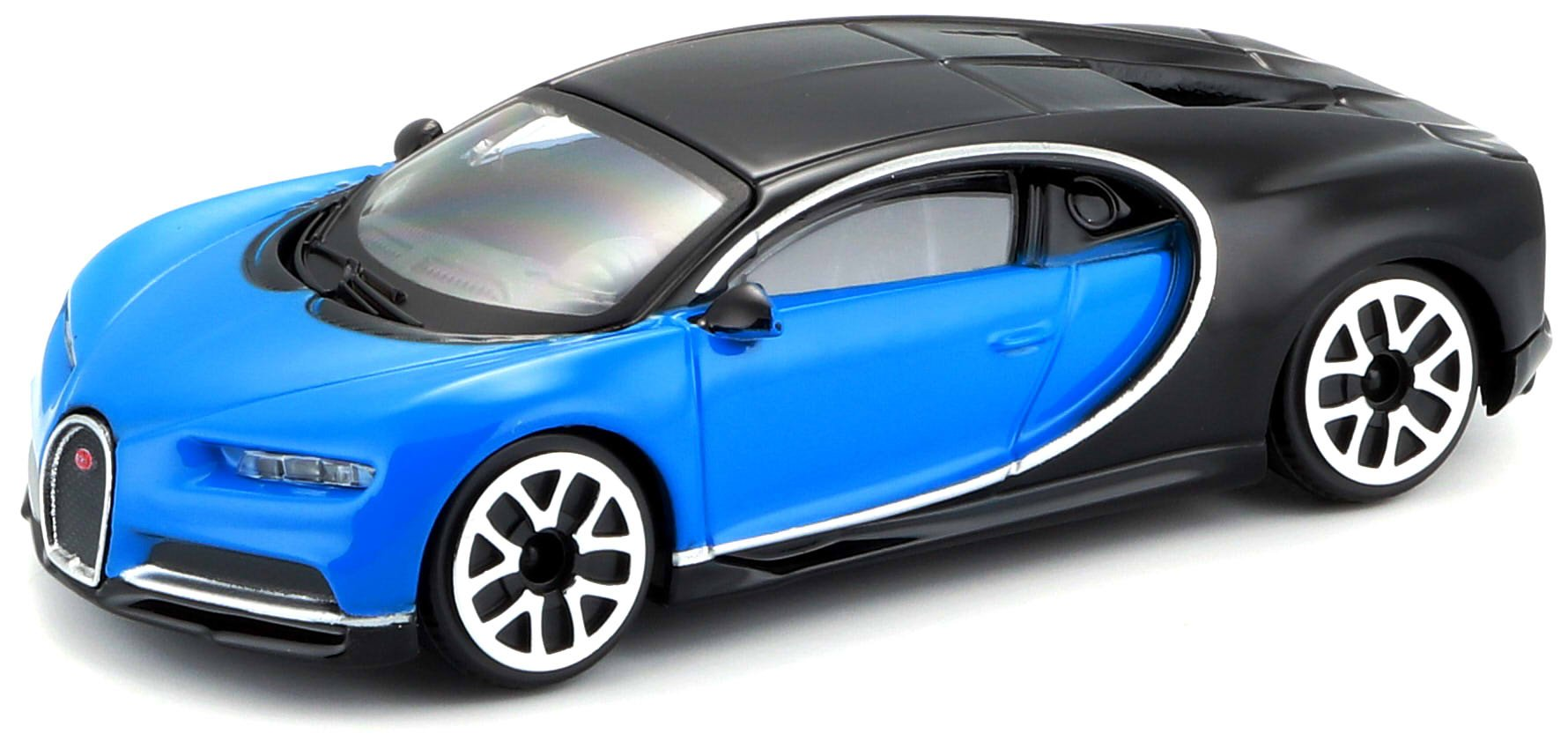 Bburago 18-30348 1:43 Bugatti CHIRON, Multi-Coloured