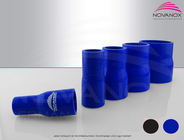 Riduttore in silicone /Ø 60-50 mm blu tubo flessibile del radiatore tubo flessibile universale turbo