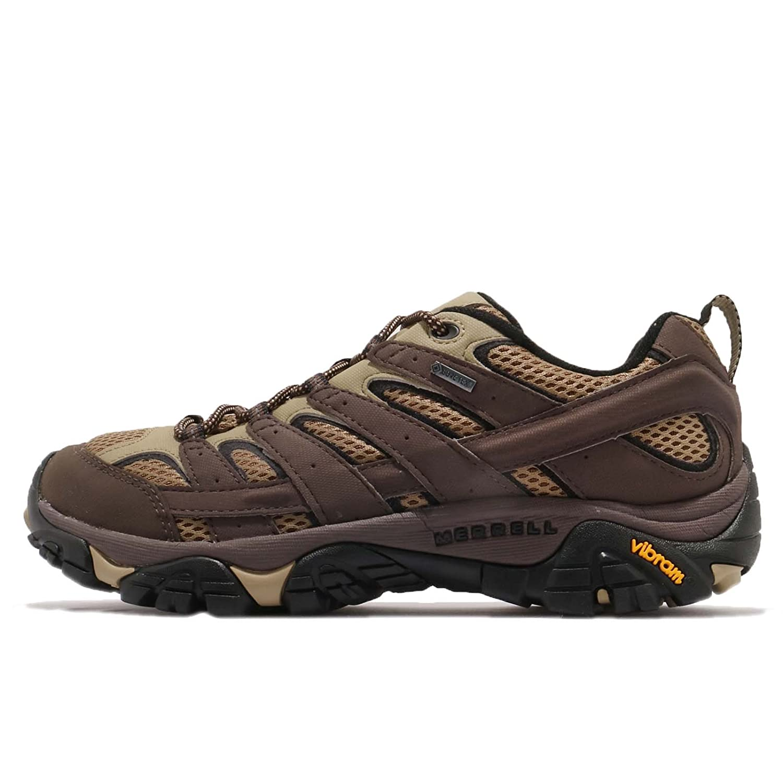 Merrell Men's Moab 2 GTX Hiking Shoe 7.5 D(M) US|Bracken