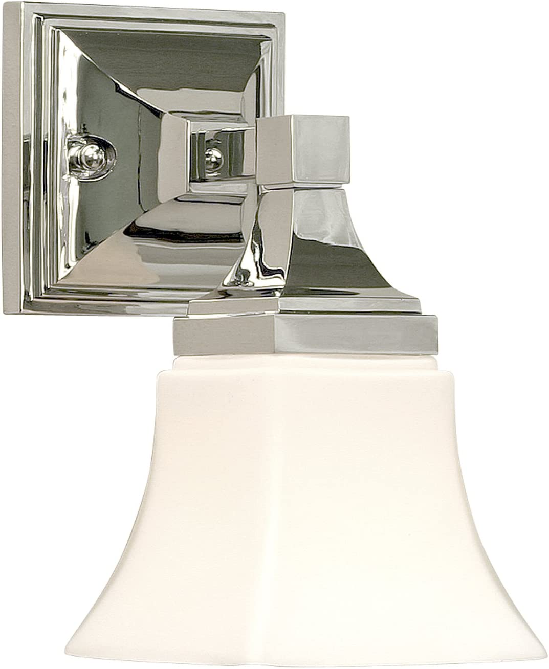 Premier 617523 Union Square Vanity Fixture 1-Light, Chrome