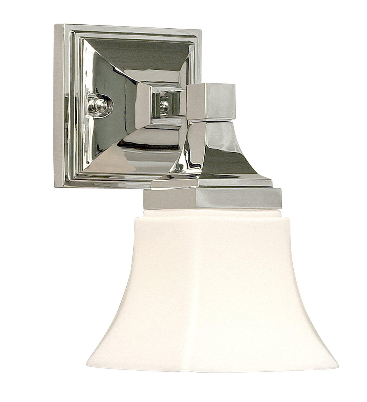 Premier 617523 Union Square Vanity Fixture 1-Light, Chrome