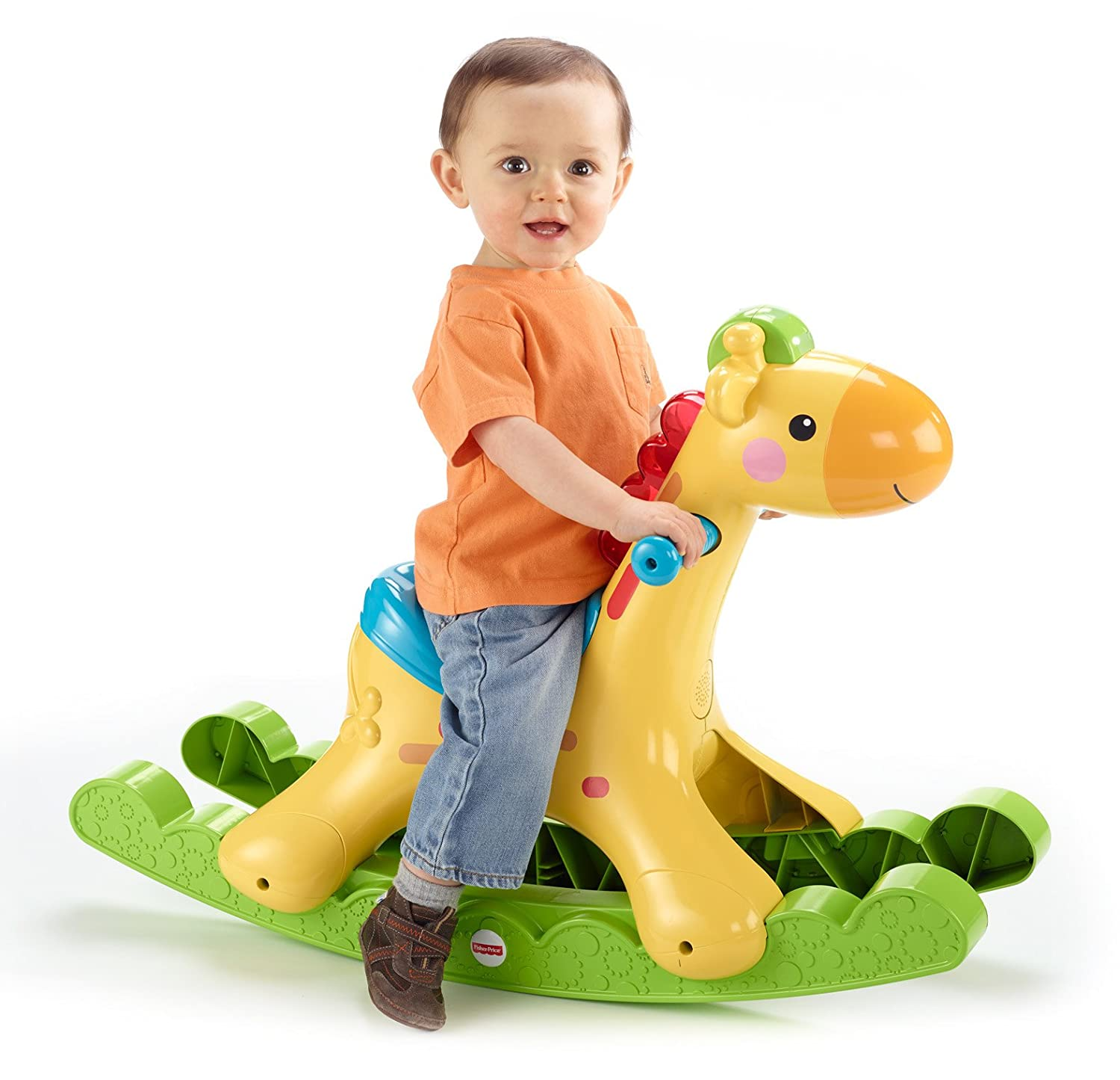 Amazon Fisher Price Rockin Tunes Giraffe Toys & Games