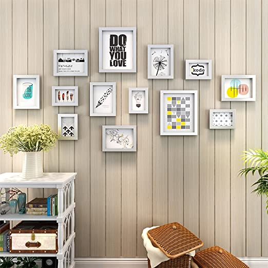 Amazon Com Gy Photo Frame Wall Gallery Kit Wall Mounted Photo Frame Photo Frame Set Home Decoration Wall Sticker Bedroom Photo Wall Living Room Wall Staircase Combination Frame 13 Color Silver,Home Decorators Collection Discount Code