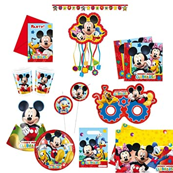 Disney Micky Maus Mickey Mouse Clubhouse Kinder Geburtstag Party Set