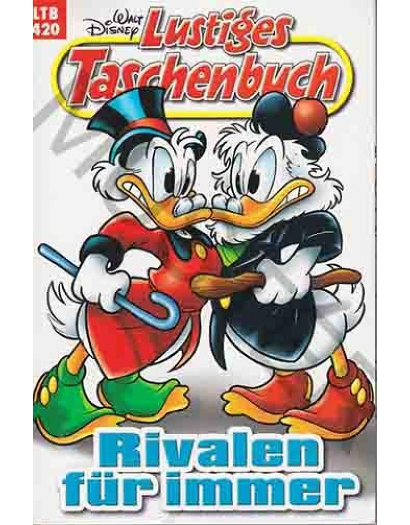 Walt Disney: LTB Lustiges Taschenbuch Band 420: Rivalen für immer - Donald Duck und Micky Maus Comics für deine Sammlung Taschenbuch – 2011 Egmont Ehapa Media Bild B01DYDTDFM Comics & Mangas