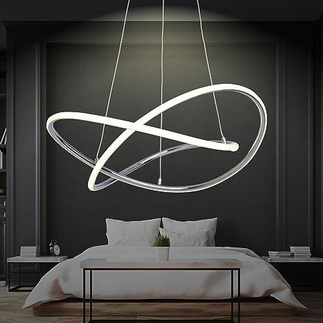 Lámpara colgante LED regulable, blanco cálido, diámetro 60 ...