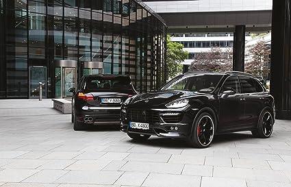 Clásico y músculo anuncios de coche y COCHE arte Porsche Cayenne S Diesel Techart coche Póster