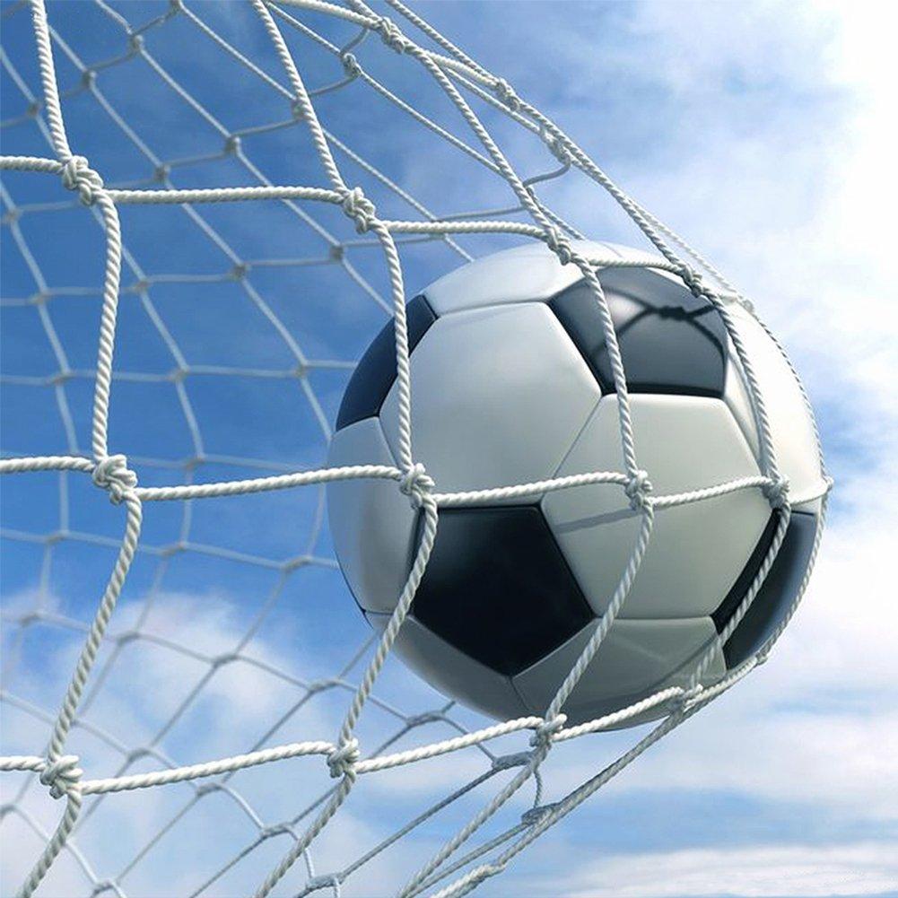 新しいSoccer Goal Post Netフルサイズトレーニングアウトドアジュニアサッカー練習を一致 B074XBMJV812' x 6'