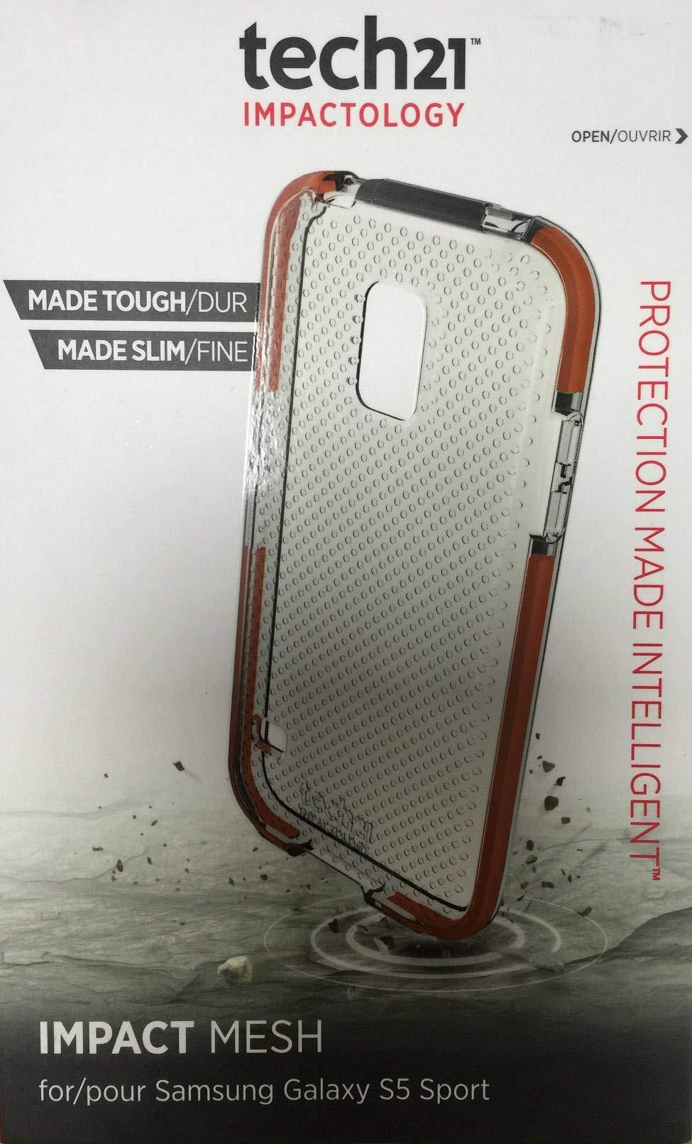 Tech21 Impact Mesh for Samsung Galaxy S5 Sport - Clear