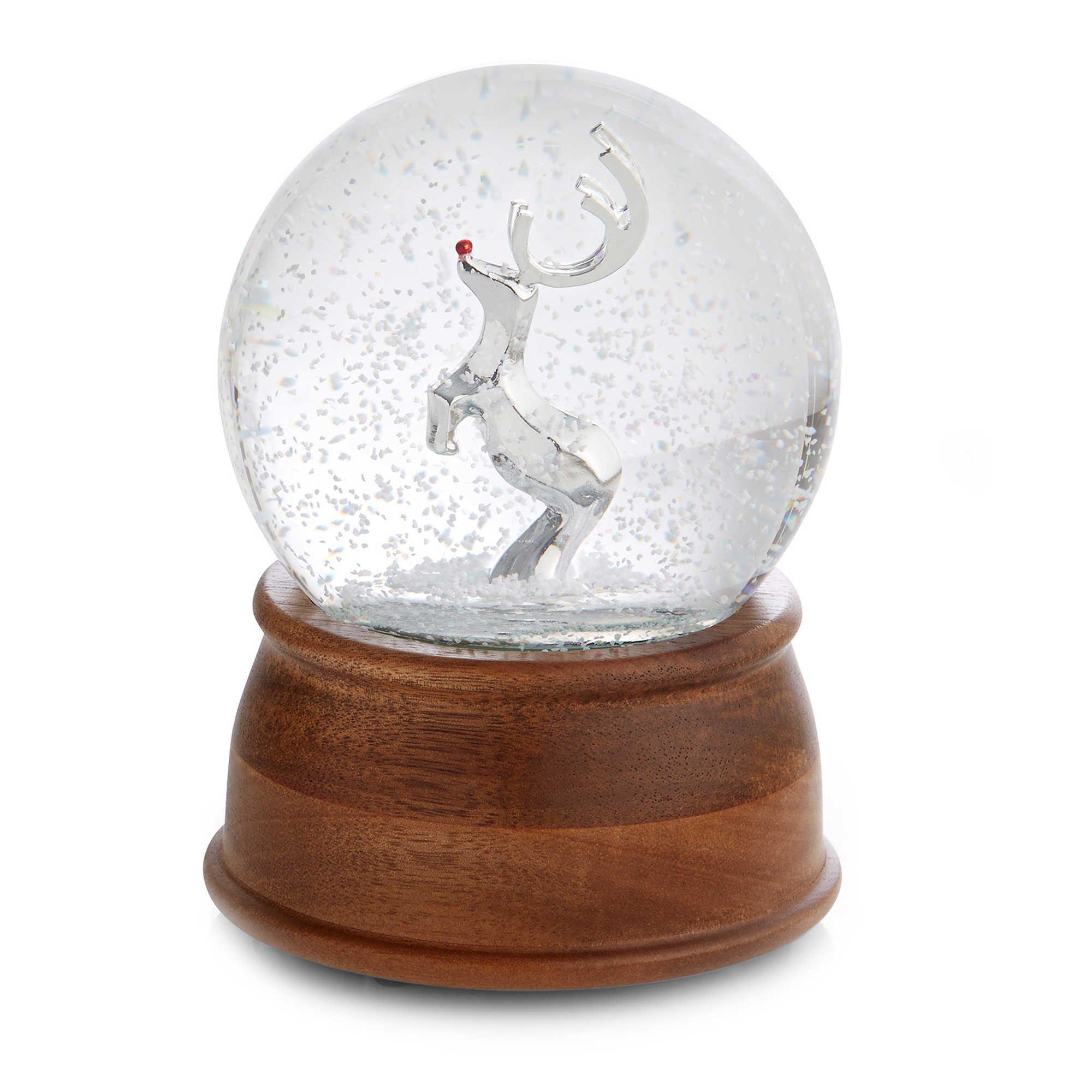 Nambé Reindeer Snow Globe