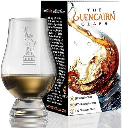 Statue of Liberty Glencairn Decorative Crystal Whiskey Tasting Glass