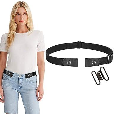Amazon.com: Werforu - Cinturón elástico sin hebilla para ...