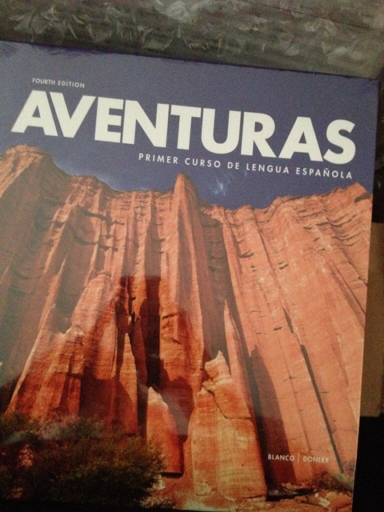 Aventuras 4th edition vista higher learning amazon books fandeluxe Gallery