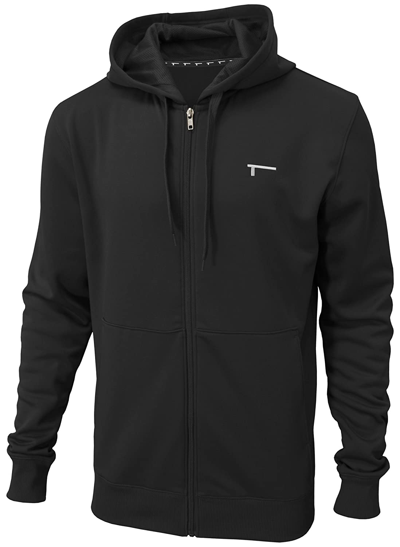 TREN Herren THERMAL Performance Fleece Full Zip Hoody Kapuzensweater