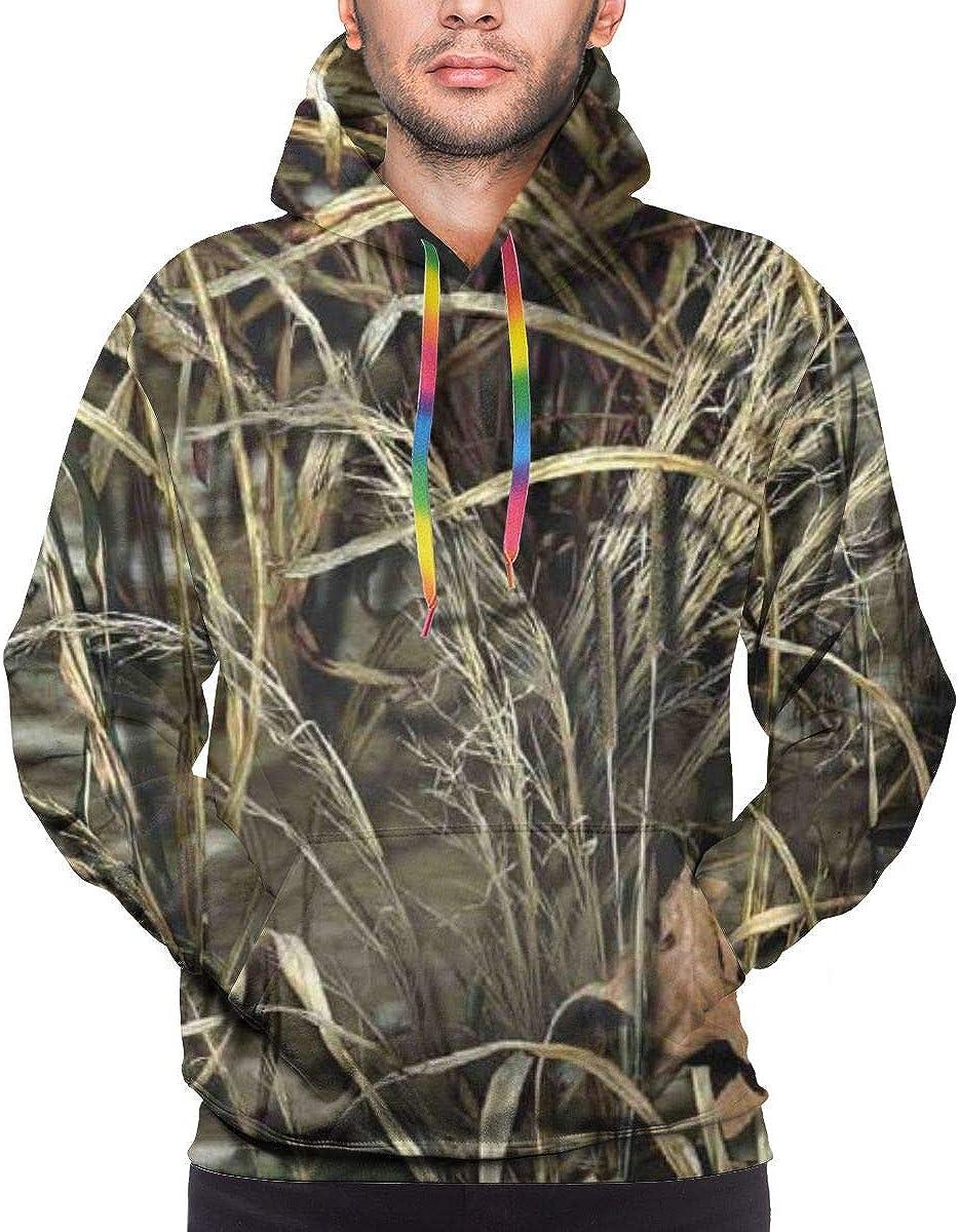 Mens Autumn Winter Long Sleeve Hoodies Realtree Camo Wallpapers Logo Hooded Pockets Sweatshirt Tracksuits