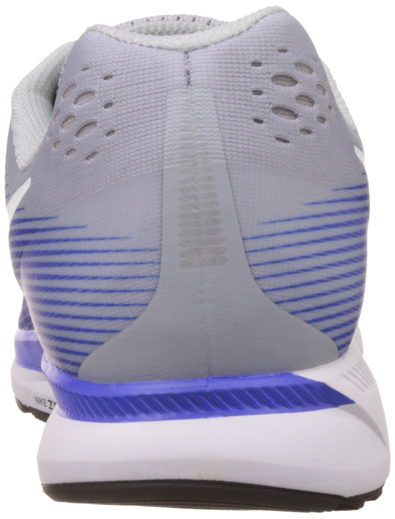 NIKE Mens Air Zoom Pegasus 34 Running Shoe (11 M US, Wolf Grey/White/Racer Blue) by Nike (Image #2)