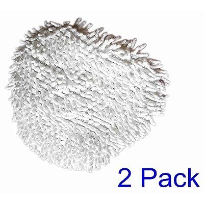 Astar Shark en microfibre de remplacement Scrub Mini Tampons Convient pour Shark Lift Away Vapeur professionnelle Poche Serpillère S3901S3901d