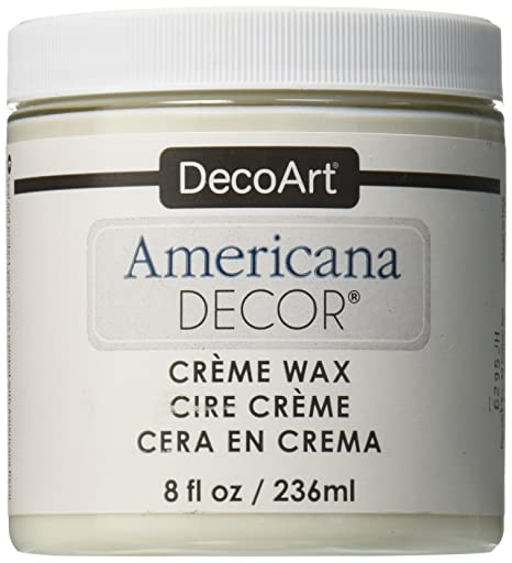 Decoart Americana Decor Creme Wax 8 Ounce Clear