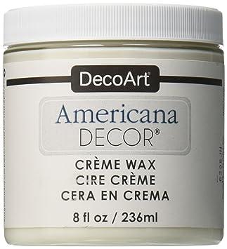 Deco Art Americana Decor Creme Wax 8 Oz Clear Amazoncouk