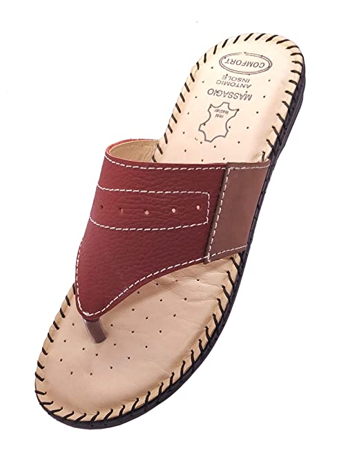 Buy Sapid Store Women's Maroon Genuine