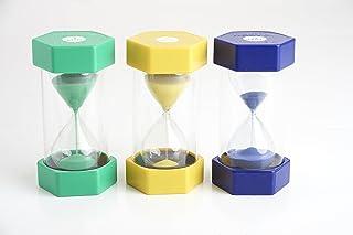 Tickit 92045Large Sand timer set, diametro 70mm, 3pezzi