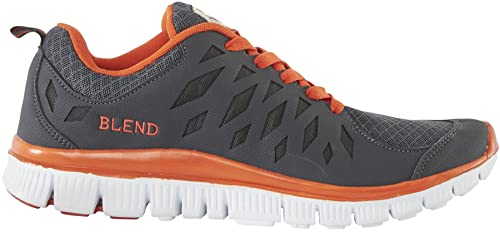 online store 4a4eb 11b08 Blend She Grey Orange White New Womens Trainers Shoes-40 ...