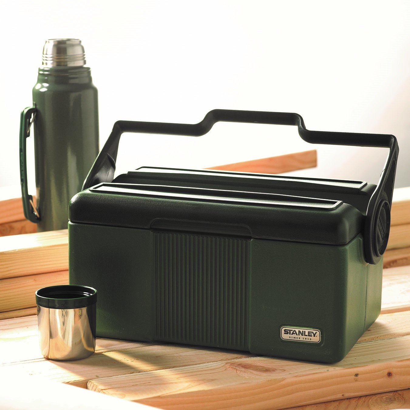 Stanley 7QT Heritage Cooler with Classic 1.1QT Vacuum Bottle by Stanley (Image #5)