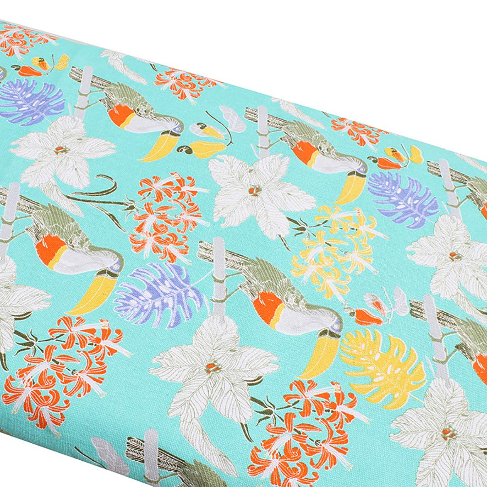 137x38cm Universal Size 2mm Thicken Foam Multi 2# Best Wishes /&Gift Ideas Scorch Resistant Large Smartfit Elastic Ironing Board Cover Fits Boards Up To 137cm Flamingo Ironing Board Cover