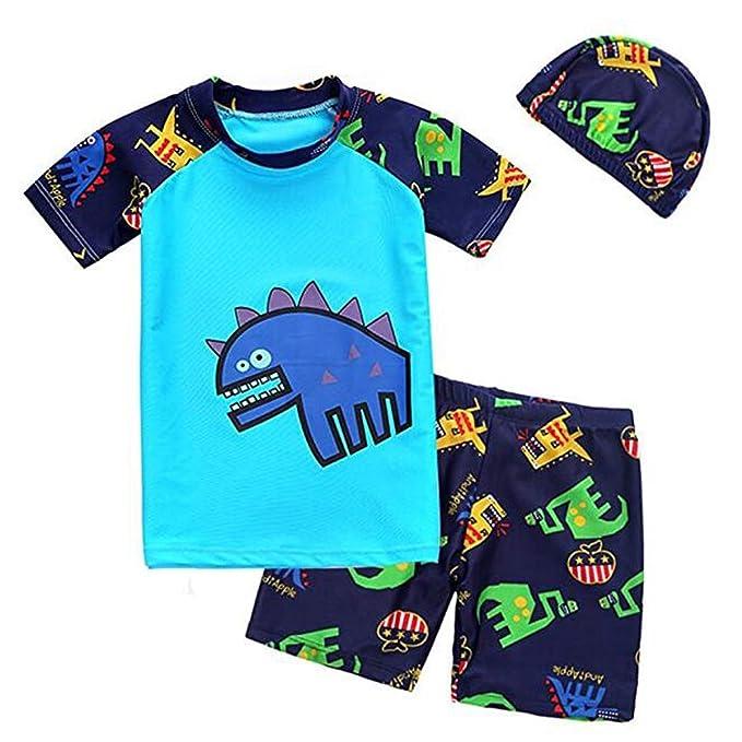 9753a3af95 Bai You Mei Baby Toddler Boys Swim Set Kids Swimsuits Boys Two Pieces UV  Protective Swimwear