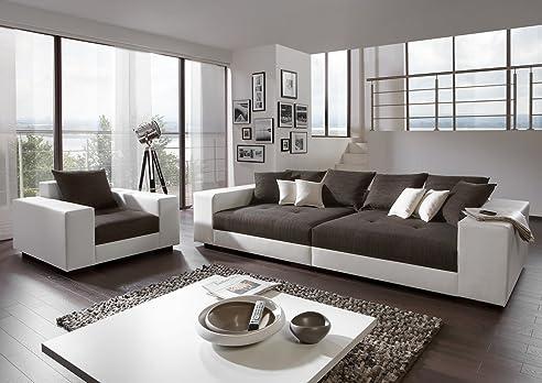 Big Sofa Exclusiv Mit Sessel U2013 Made In Germany U2013 Freie Stoff Und Farbwahl  Zum Kombinieren Photo