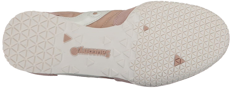 Saucony Originals Women's Bullet Sneaker Cream B01MYN9RQJ 6.5 B(M) US|Tan Cream Sneaker 013893