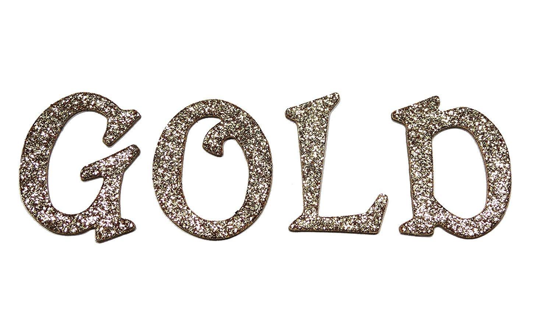 Gold Metallic Glitter HandCut 1.5