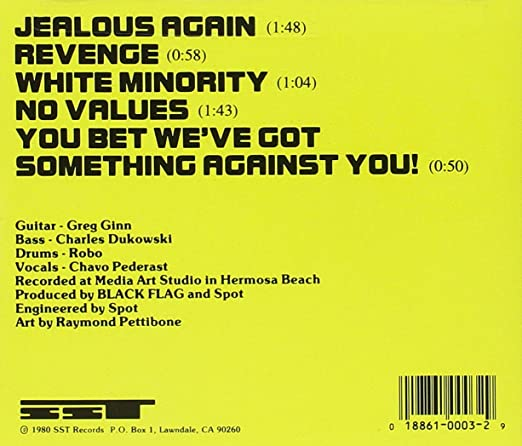 Black Flag Jealous Again Amazon Music