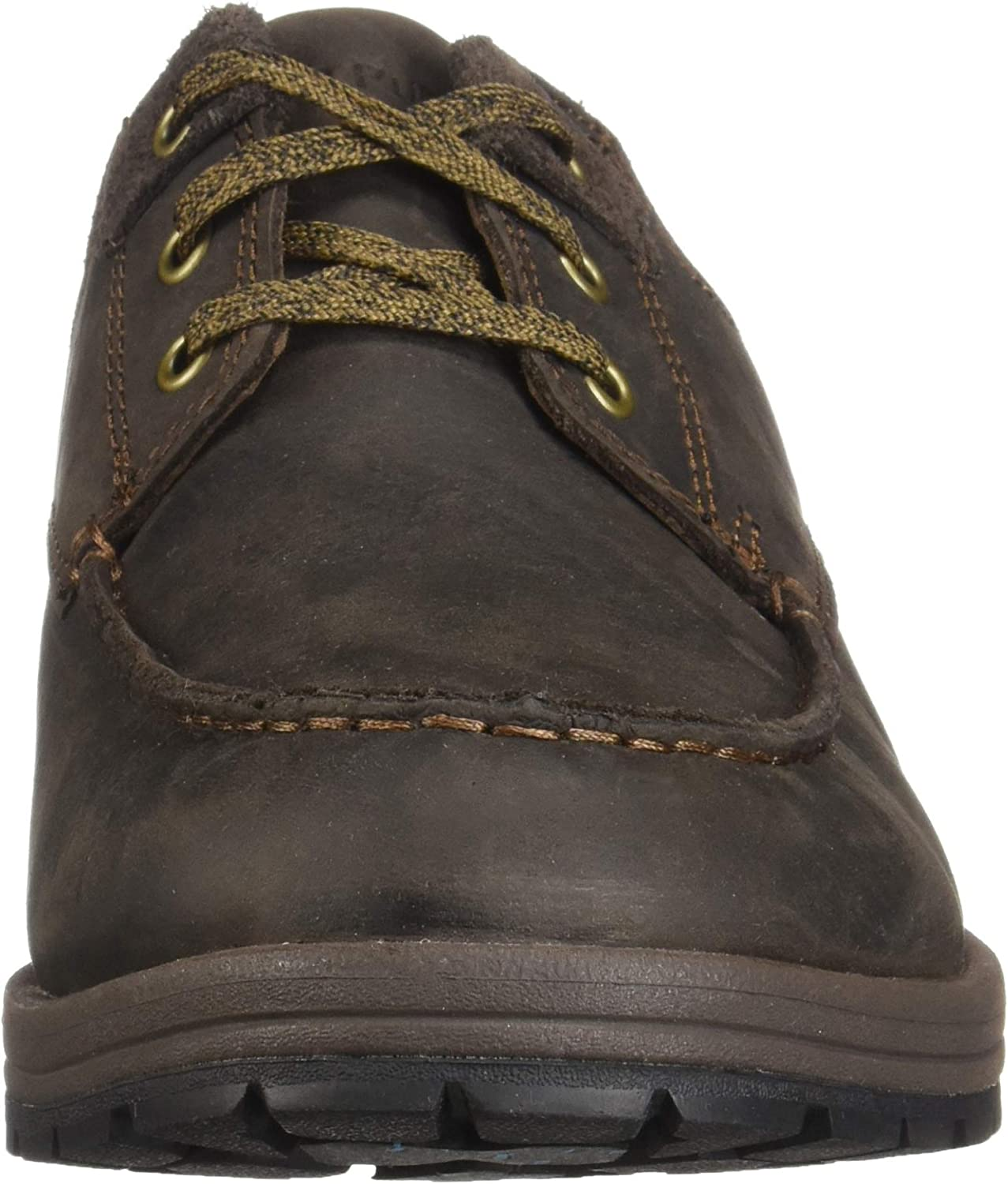 Hush Puppies BEAUCERON MT OXFORD Mens Comfy Stylish Lace Up Leather Shoes Brown