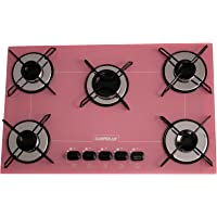Cooktop Chamalux 5 bocas ultra chama rosa