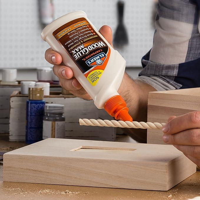 elmer s e7310 carpenter s wood glue max interior exterior 16