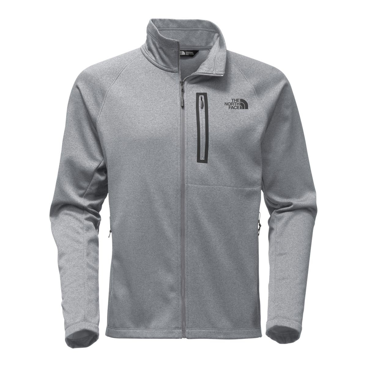 The North Face Men's Canyonlands Full Zip TNF Medium Grey Heather - XL by The North Face