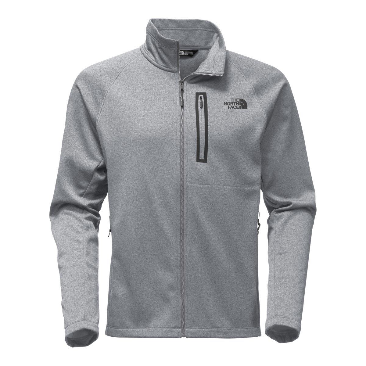 The North Face Men's Canyonlands Full Zip TNF Medium Grey Heather - XL