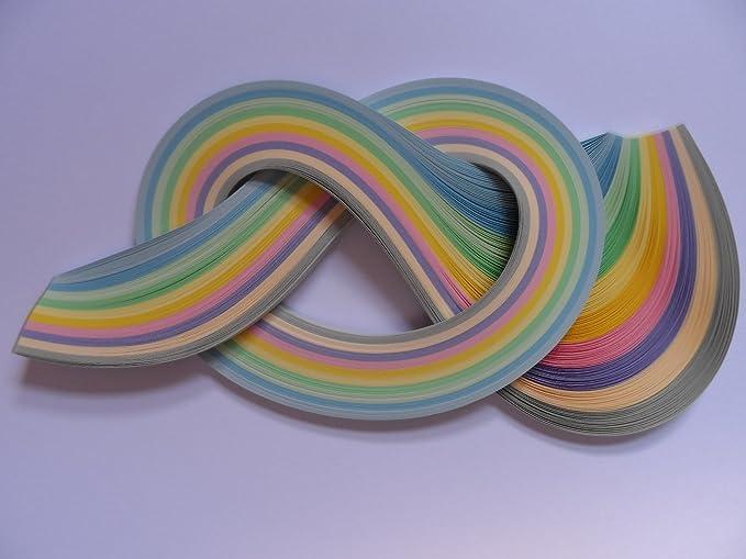 Past Times Quilling Papierstreifen 2mm 175 St/ück Herbstfarben