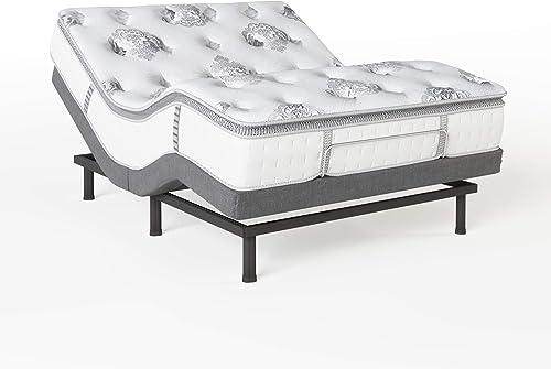 Classic Brands Mercer Pillow Top Cool Gel Memory Foam and Innerspring Hybrid 12-Inch Mattre